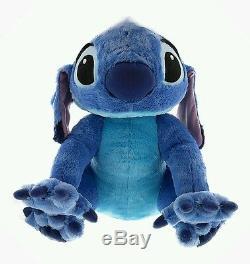 Disney Parks Stitch 25 Inch Plush Stuff Animal Lilo & Stitch Blue Retired