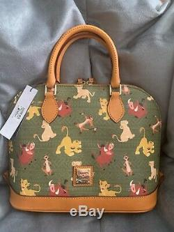 Disney Parks The Lion King Satchel Purse by Dooney & Bourke New Great Placement
