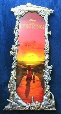 Disney Pin Artland UK Two-tone Framed The Lion King LE 75