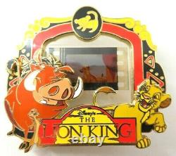 Disney Pin Piece of Disney Movies The Lion King LE 2000 #90441