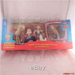 Disney Pixar Toy Story 2 Woody's Roundup Collection with Prospector Pete box set