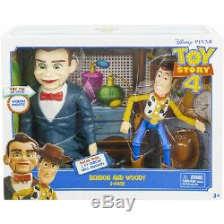 Disney Pixar Toy Story Benson and Woody Figure 2-Pack EXCLUSIVE