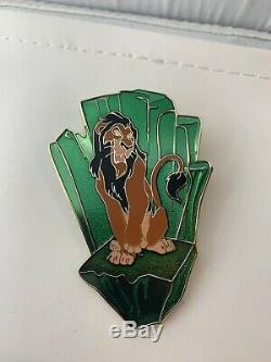 Disney Shopping Store Scar Villains Boys Club LE 125 Pin The Lion King