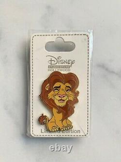 Disney Simba Hero Cuties Pin 129780 DSF DSSH LE 300 Lion King