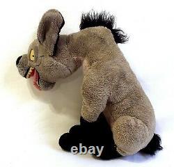 Disney Store Ed Hyena STAMPED Stuffed Plush The Lion King RARE 14