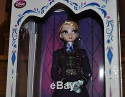 Disney Store Frozen Elsa Limited Edition 5000 Collector 17 Doll Purple NEW
