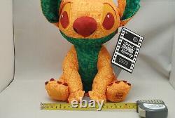 Disney Store Japan 2021 Stitch Crashes Lady and Tramp Lion King Plush Set of 2