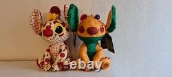 Disney Store Stitch Crashes Plush Lady and the Tramp & The Lion King 2/12 & 3/12