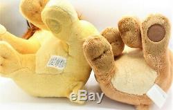 Disney Store The Lion King Adult Simba and Nala Stuffed Plush Set 18 inch LARGE