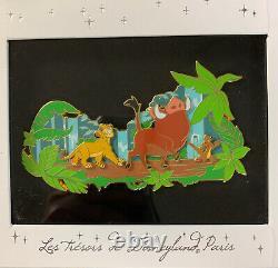 Disney Store UK The Lion King Jumbo LE 400 Pin #139431 DLP Treasure Boxed