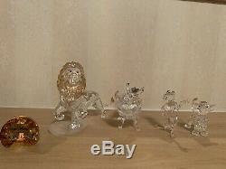 Disney Swarovski Lion king Set