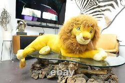 Disney The Lion King Adult Simba Mufasa Plush VTG JUMBO RARE 44 Douglas Co. Inc