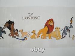 Disney The Lion King Animation Cel