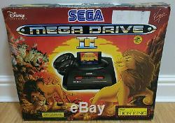 Disney The Lion King Edition Boxed Sega Mega Drive Mark II 2 Console In Vgc
