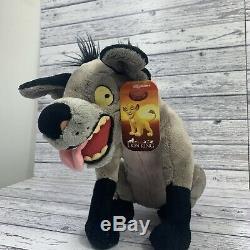 Disney The Lion King Hyena Plush Ed Rare Stamped With Tag