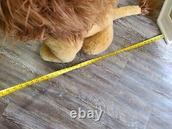 Disney The Lion King Mufasa Plush VTG JUMBO (RARE) 30 INCHES TALL