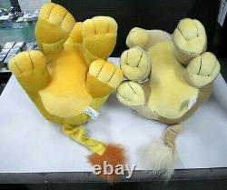 Disney The Lion King Simba Nala S00455 Sega Gesen Prize Pair Plush Novelty Japan