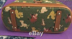 Disney The Lion King Simba Nala Timon Pumba Dooney & Bourke Satchel Purse NWT