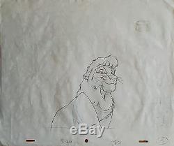 Disney The Lion King, Simbas PRIDE-Original ART + matching Drawings! UNIKAT