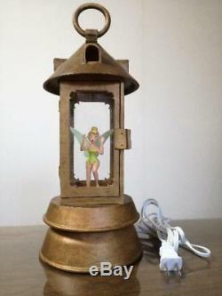 Disney Tinker Bell Room Lamp Lantern Peter Pan 36cm Very Rare F/S used japan