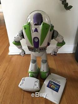 Disney Toy Story Ultimate Buzz Lightyear Progammable Robot Interactive 16