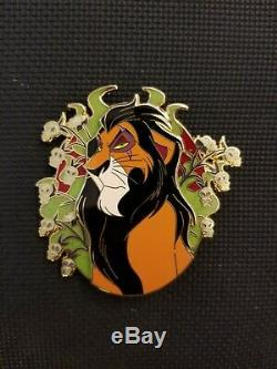 Disney Villain Lion King Scar Pop Fantasy Pin LE 65 New