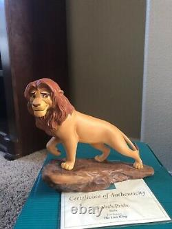 Disney WDCC Set of 6 The Lion King Figurines