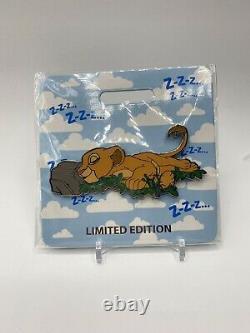 Disney WDI D23 Cat Nap Nala LE 300 Pin The Lion King Simba
