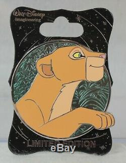Disney WDI Imagineer LE 250 Pin Heroines Profile Nala Lion King