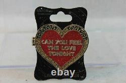Disney WDI LE Pin Valentines Day Heart Lion King Simba Nala Can You Feel Love