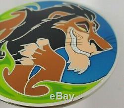 Disney WDI Pin Scar Villain Profile Le 250 Lion King HTF