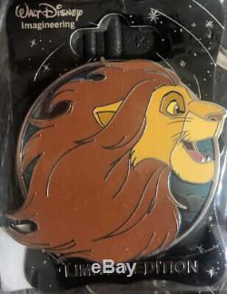 Disney WDI Pin Simba Heroes Profile Le 250 Lion King Nala Scar Timon Mufasa
