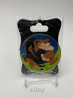 Disney WDI Scar Villains Profile LE 250 Pin The Lion King