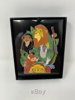Disney WDI The Lion King 25th Anniversary LE 250 Jumbo Pin Simba Nala Scar D23