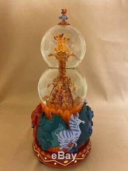 Disney's The Lion King Simba Nala Snowglobe Snow Globe Figurine