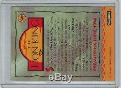 Disney's The Lion King Super Bowl Promo Promotional Card SB1 Skybox