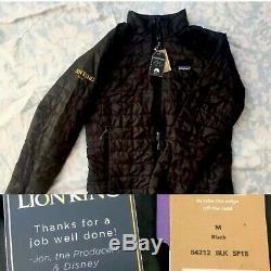 Disneys Lion King Movie Cast Team EXCLUSIVE Patagonia Puff Jacket Gift NWT M