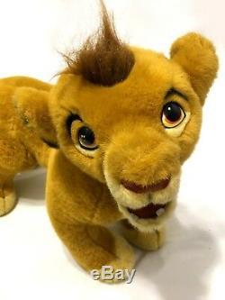 Douglas Cuddle Toys Simba Large 30 Disney Lion King Stuffed Plush RARE 1994
