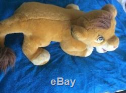 Douglas Cuddly Toys Simba Large 30 Disney Lion King Stuffed Plush RARE