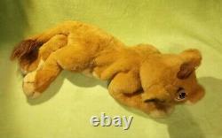 Douglas Lion King Cuddle Toy Young Simba Puppet Plush Disney RARE