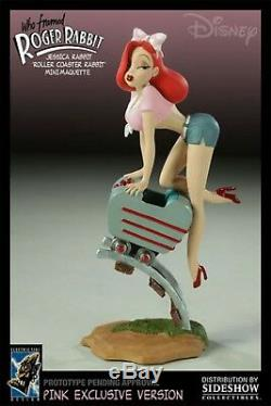 ELECTRIC TIKI SIDESHOW DISNEY JESSICA ROGER RABBIT PINK Maquette Statue FIGURE