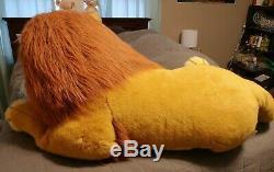 EUC Douglas Co Lion King Simba Plush Stuffed Disney Huge Jumbo Mufasa