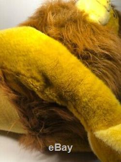EUC Douglas Lion King Simba Plush Stuffed Disney Huge Jumbo Mufasa 1994 Nestle