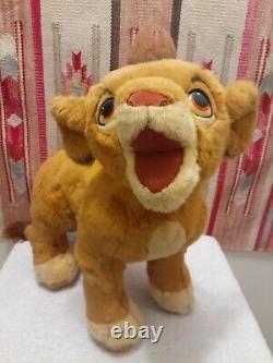 EXTREMELY RARE 1994 The Lion King Young Simba Douglas Plush lifesize promo look