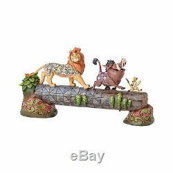 Figure Disney Traditions IL Re Leone The Lion King Statue Simba Timon Pumbaa #1