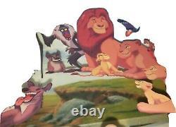 Framed Sericel Drawings Walt Disney Animated Clip Art The Lion King 1994
