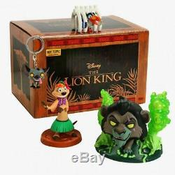 Funko Disney Treasures The Lion King Box Exclusive #544 Chase Red Scar