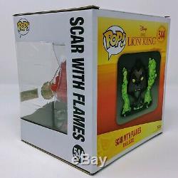 Funko Disney Treasures The Lion King Scar with Flames (Chase) Funko Pop! Vinyl