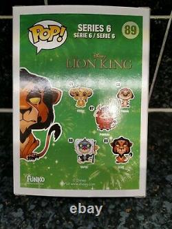 Funko POP! Disney The Lion King Scar #89 Previously Owned but never out of box