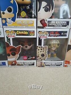 Funko Pop Bundle x 40, WWF, WWE, Pokemon, Lion King, Tekken, Disney, Godfather